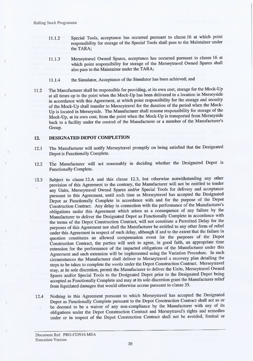 33 Contract PRG CON16 MSA Page 20