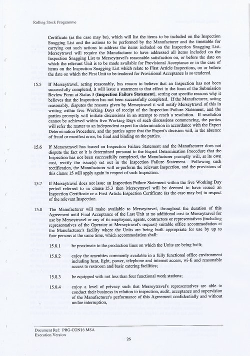 39 Contract PRG CON16 MSA Page 26