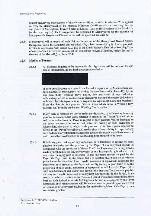71 Contract PRG CON16 MSA Page 58