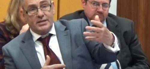 What did Cllr Gordon Friel answer when asked about guards and the Merseyrail strike?