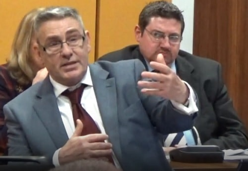 Cllr Gordon Friel (Transport Committee, Liverpool City Region Combined Authority) 4th January 2018 answering questions about Merseyrail strike action