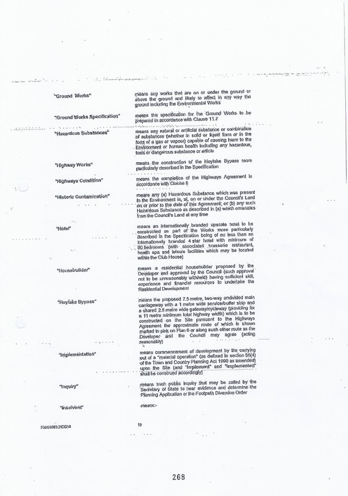 Hoylake Golf Resort contract Page 10 of 93