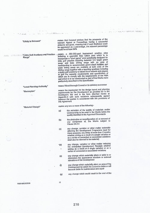 Hoylake Golf Resort contract Page 12 of 93