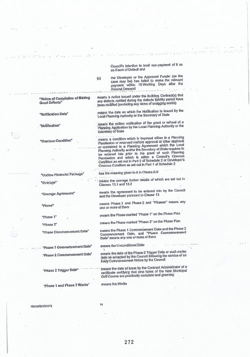 Hoylake Golf Resort contract Page 14 of 93