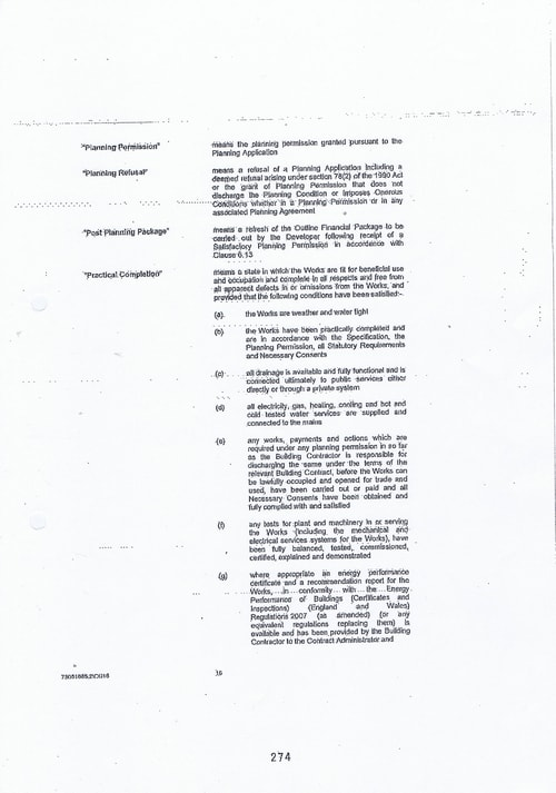 Hoylake Golf Resort contract Page 16 of 93