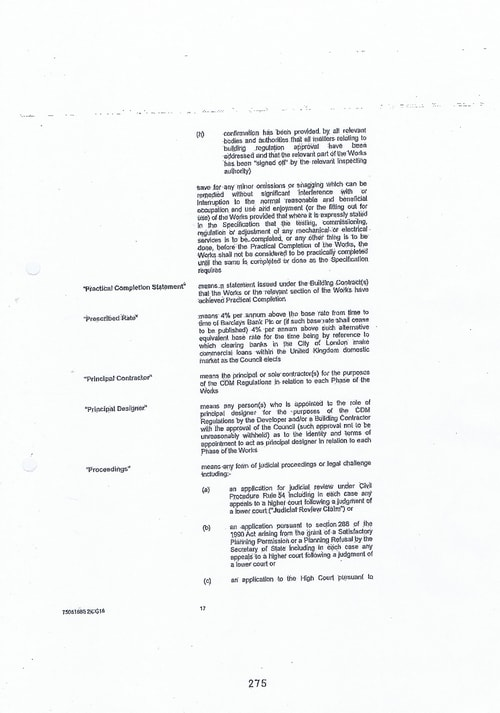 Hoylake Golf Resort contract Page 17 of 93