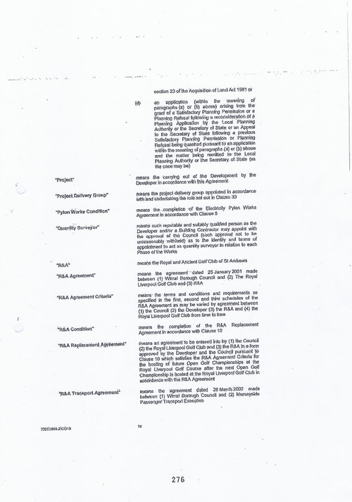 Hoylake Golf Resort contract Page 18 of 93