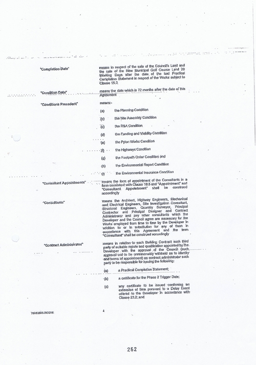 Hoylake Golf Resort contract Page 4 of 93