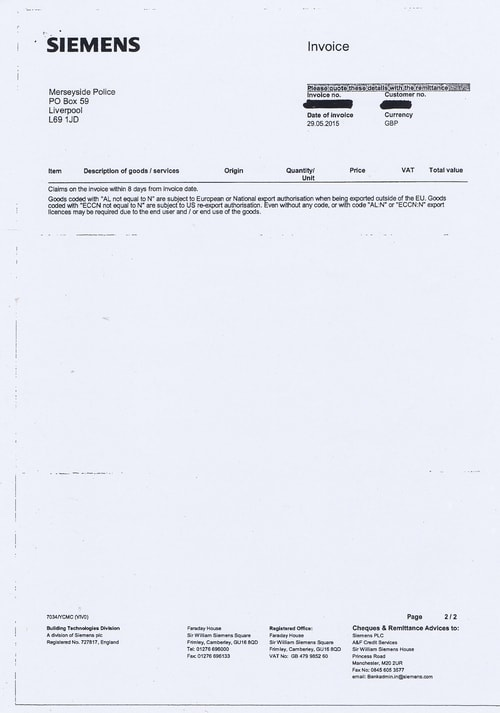 Merseyside Police invoices 2015 2016 Page 69 of 112