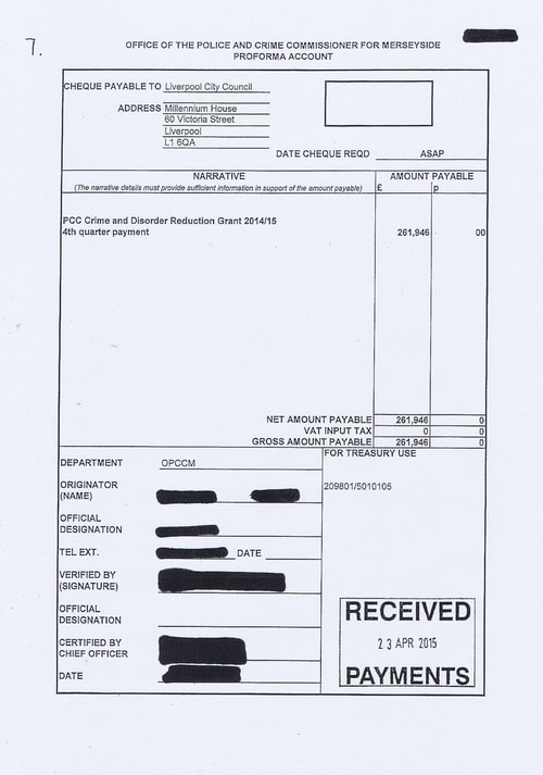 Merseyside Police invoices 2015 2016 Page 7 of 112
