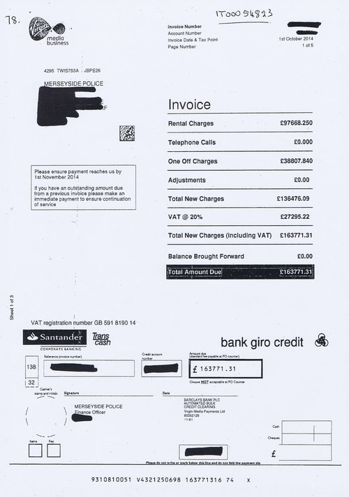 Merseyside Police invoices 2015 2016 Page 89 of 112