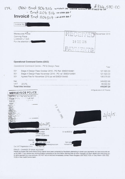 Merseyside Police invoices 2015 2016 Page 184 of 208