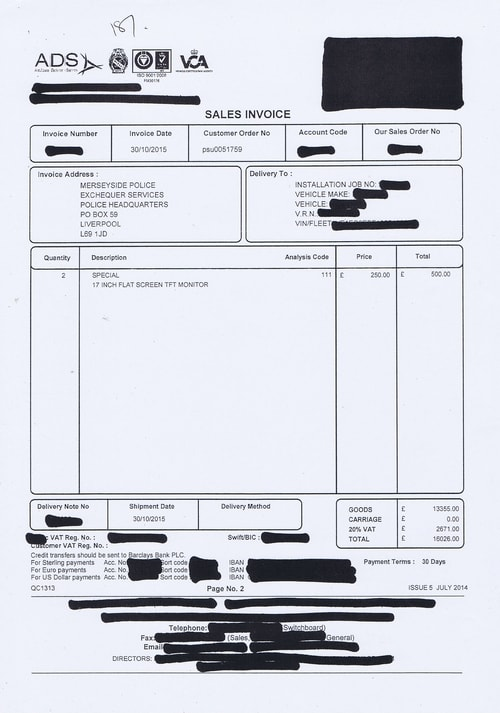 Merseyside Police invoices 2015 2016 Page 195 of 208