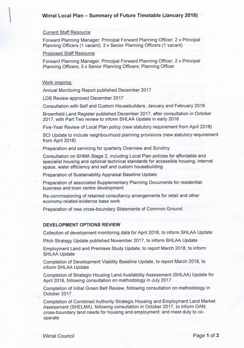 email Cllr Phil Davies Rt Hon Sajid Javid MP Local Plan 31st January 2018 attachment 1 Page 1 of 3
