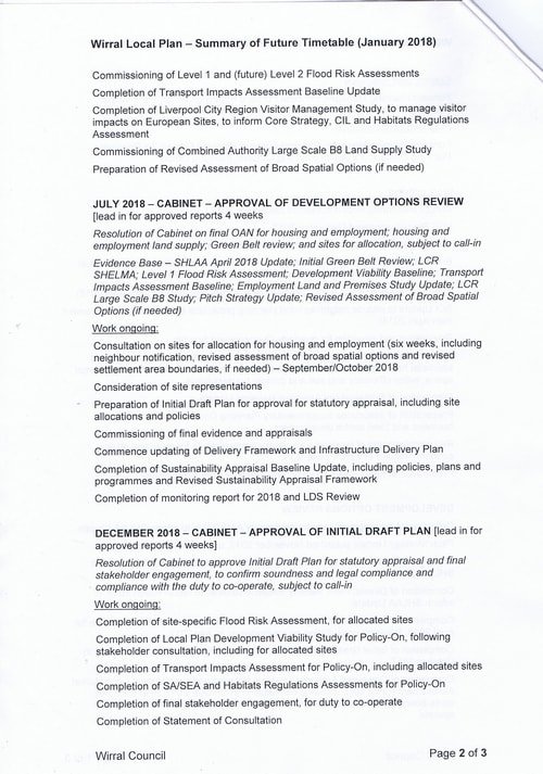 email Cllr Phil Davies Rt Hon Sajid Javid MP Local Plan 31st January 2018 attachment 1 Page 2 of 3