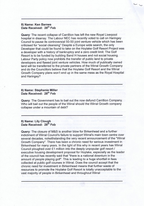 Birkenhead Constituency Committee (1st March 2018) questions page 4 of 4
