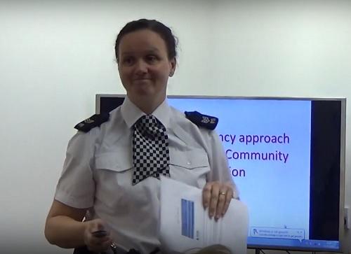 Photo 5 - Community Sergeant Katie Wilkinson Birkenhead Constituency Committee 1st March 2018