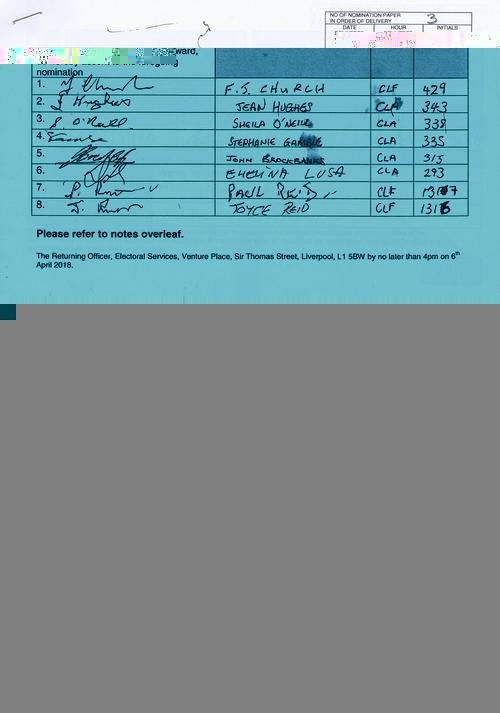 53 Clubmoor Andrew Peter NOM 2018 Liverpool City Council