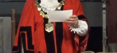 Mayor of Wirral (2018-19) Cllr Geoffrey Watt 14th May 2018