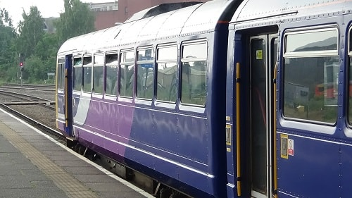 Northern Rail train Chester 9th June 2018