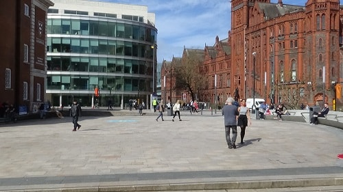 University Square (Liverpool) 24th April 2018