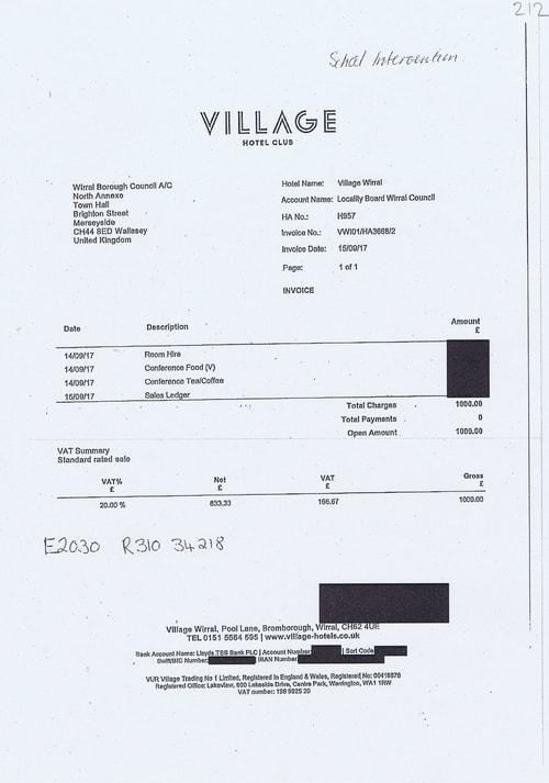 20 Village Hotel Club £1000