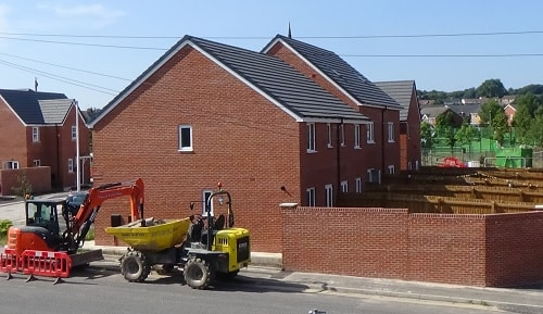 Construction work on new homes happening elsewhere on the Wirral (but not in New Ferry)