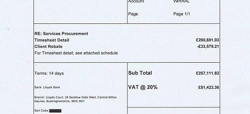 Matrix SCM Ltd Wirral Council 20th December 2017 £308534.18