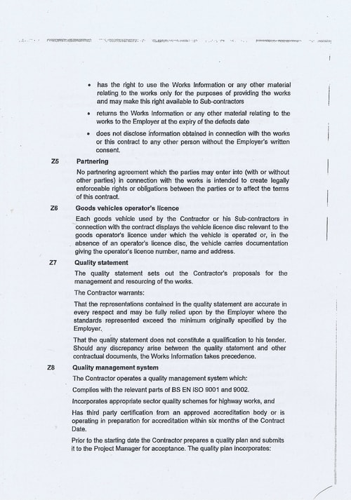 Wirral Borough Council Dawnus Construction Holdings Ltd Wirral Dock Bridges Replacement contract page 12 of 147