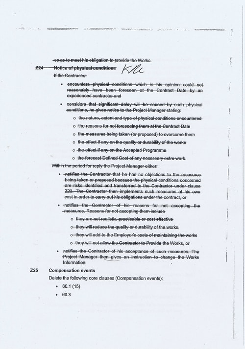 Wirral Borough Council Dawnus Construction Holdings Ltd Wirral Dock Bridges Replacement contract page 19 of 147