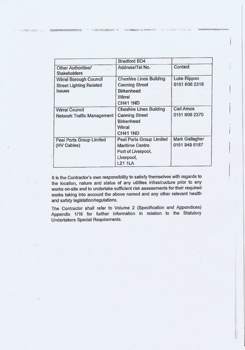 Wirral Borough Council Dawnus Construction Holdings Ltd Wirral Dock Bridges Replacement contract page 27 of 147