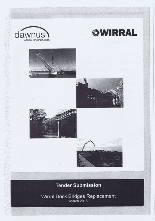 Wirral Borough Council Dawnus Construction Holdings Ltd Wirral Dock Bridges Replacement contract page 60 of 147