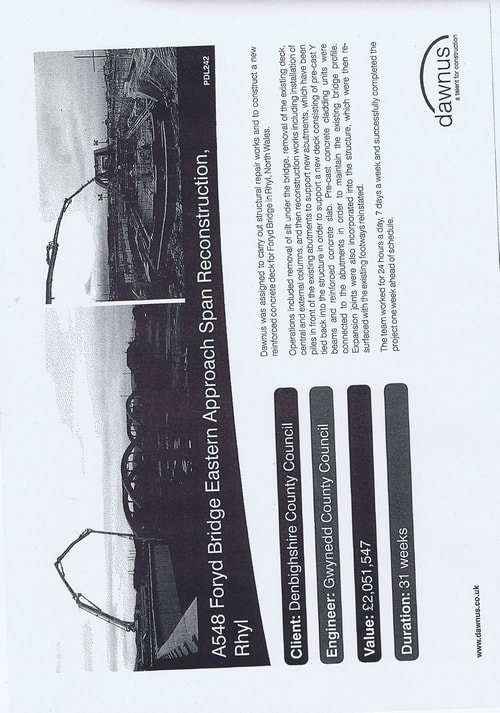 Wirral Borough Council Dawnus Construction Holdings Ltd Wirral Dock Bridges Replacement contract page 90 of 147