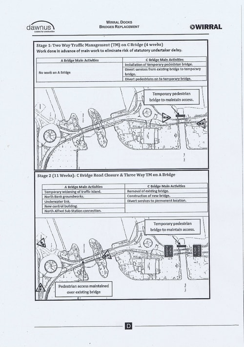 Wirral Borough Council Dawnus Construction Holdings Ltd Wirral Dock Bridges Replacement contract page 97 of 147
