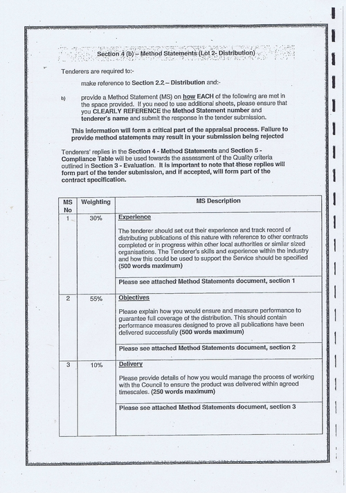 Wirral Council Smart Distribution Solutions Ltd Wirral View distribution contract page 14 of 40
