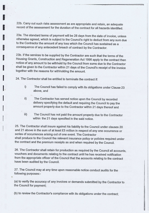 Wirral Council Smart Distribution Solutions Ltd Wirral View distribution contract page 29 of 40