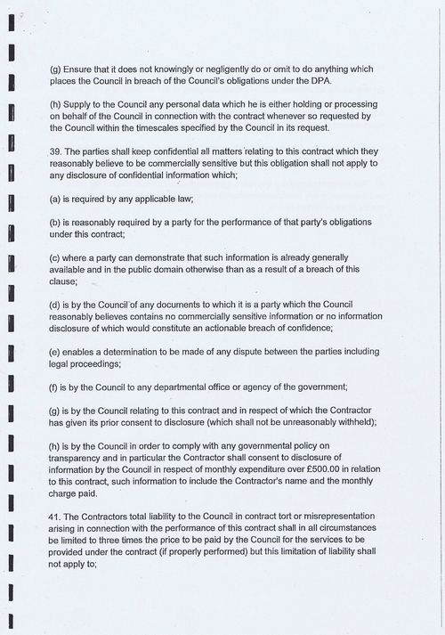 Wirral Council Smart Distribution Solutions Ltd Wirral View distribution contract page 33 of 40