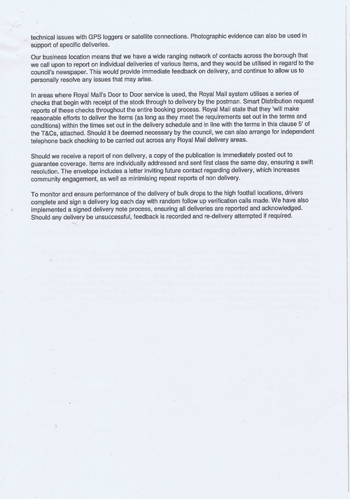Wirral Council Smart Distribution Solutions Ltd Wirral View distribution contract page 37 of 40