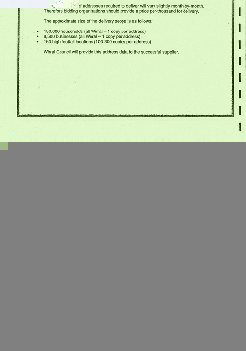 Wirral Council Smart Distribution Solutions Ltd Wirral View distribution contract page 8 of 40