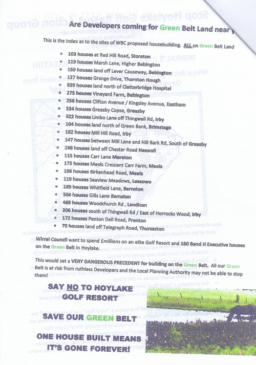 10 Defend Wirral's Green Spaces leaflet page 7 of 11