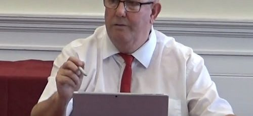 Councillor Ron Abbey (Lead Member for Bus) 11th October 2018