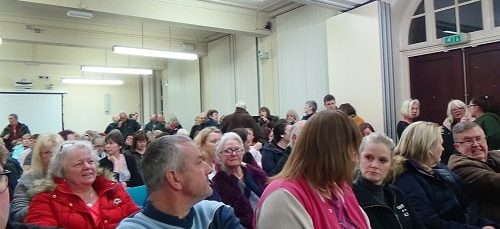 Committee Rooms 1 and 2 were full of members of the public to hear and see what happened Wallasey Town Hall Environment Overview and Scrutiny Committee 15th January 2019