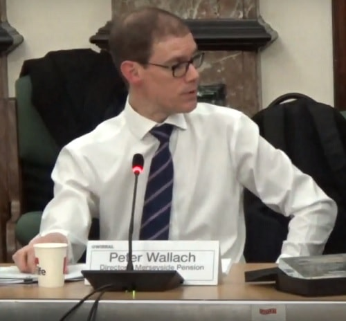 Peter Wallach (Director of Merseyside Pension Fund) 21st January 2019