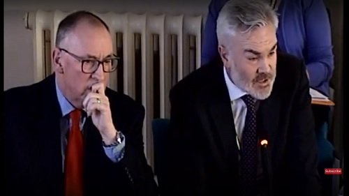 Michael Fisher (left) Kingdom Mike Cockburn (right) Wirral Council 30th January 2019 Environment Overview and Scrutiny Committee (source: Wirral Council video)
