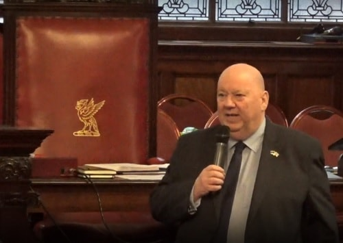Mayor Joe Anderson (Chair of Liverpool City Council's Health and Wellbeing Board) 6th March 2019