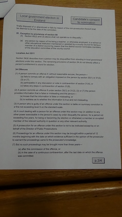 Candidate's consent to nomination Brian Kenny Labour Bidston and St James 2019 page 3 of 4