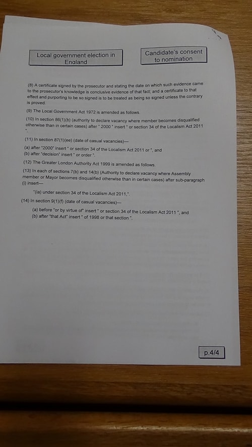 Candidate's consent to nomination Brian Kenny Labour Bidston and St James 2019 page 4 of 4