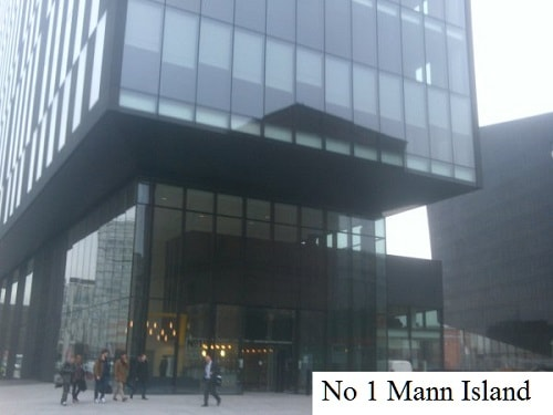 1 Mann Island, Headquarters of the Liverpool City Region Combined Authority and Merseytravel