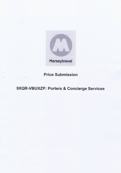 Merseytravel Carlisle Security Services Limited contract Page 30 of 33