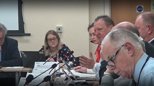 Cllr Steve Foulkes (Business Overview and Scrutiny Committee (Wirral Council)) 27th November 2019